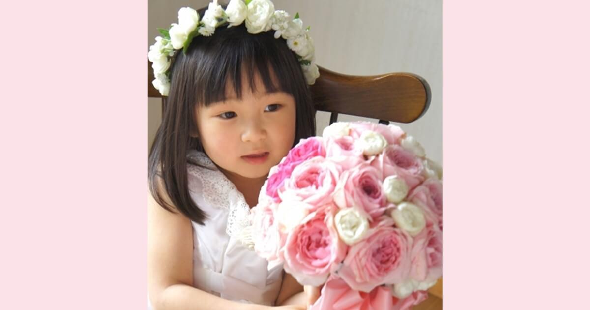 結婚式に招待された時の子供(女の子)