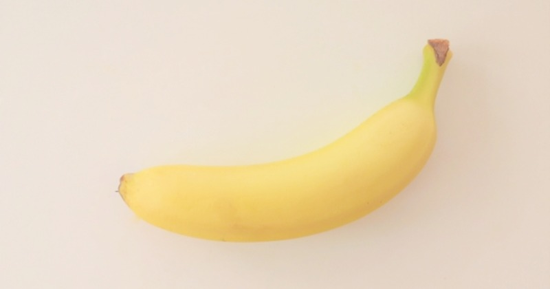 朝バナナを1本食べましょう